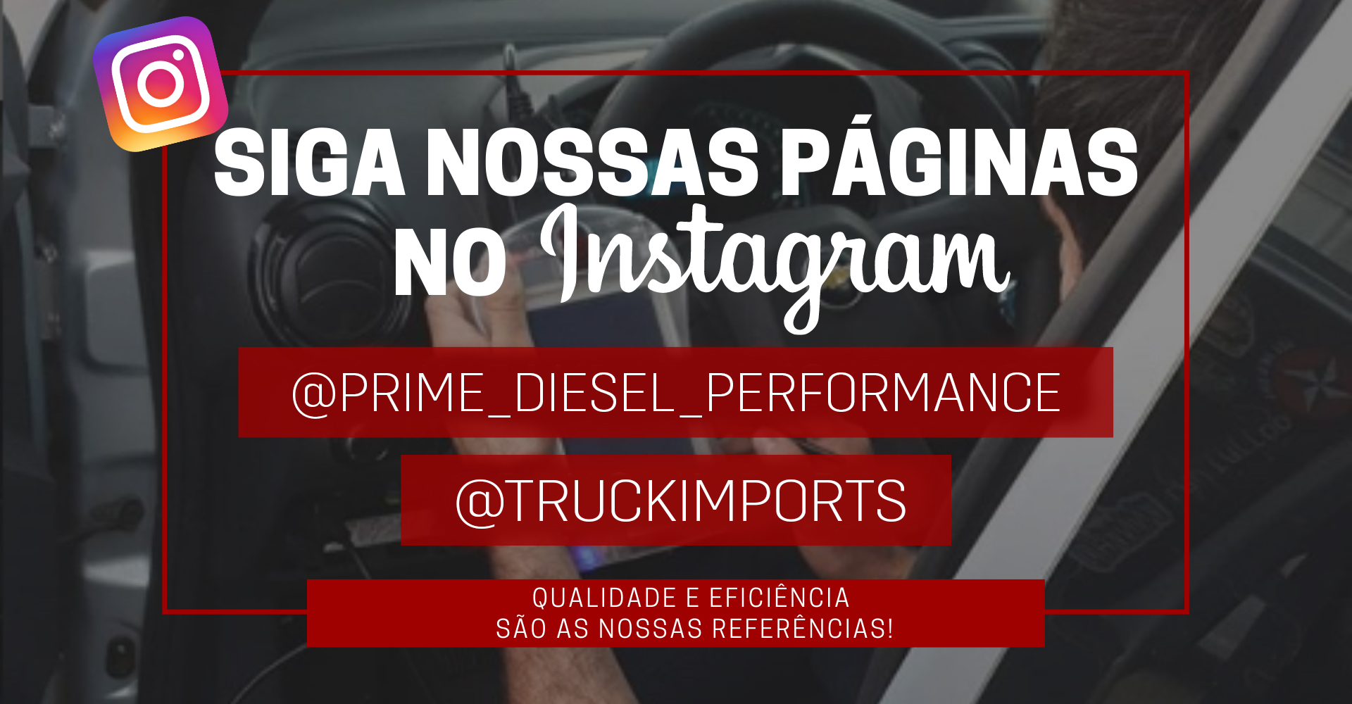 Siga no instagram!