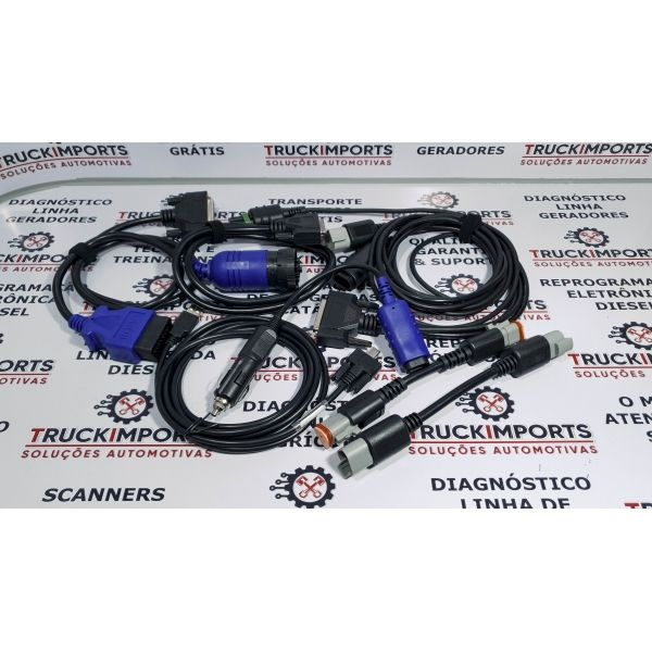 Kit Scanner Cummins Inline 6 + Incal Calibrações 2021