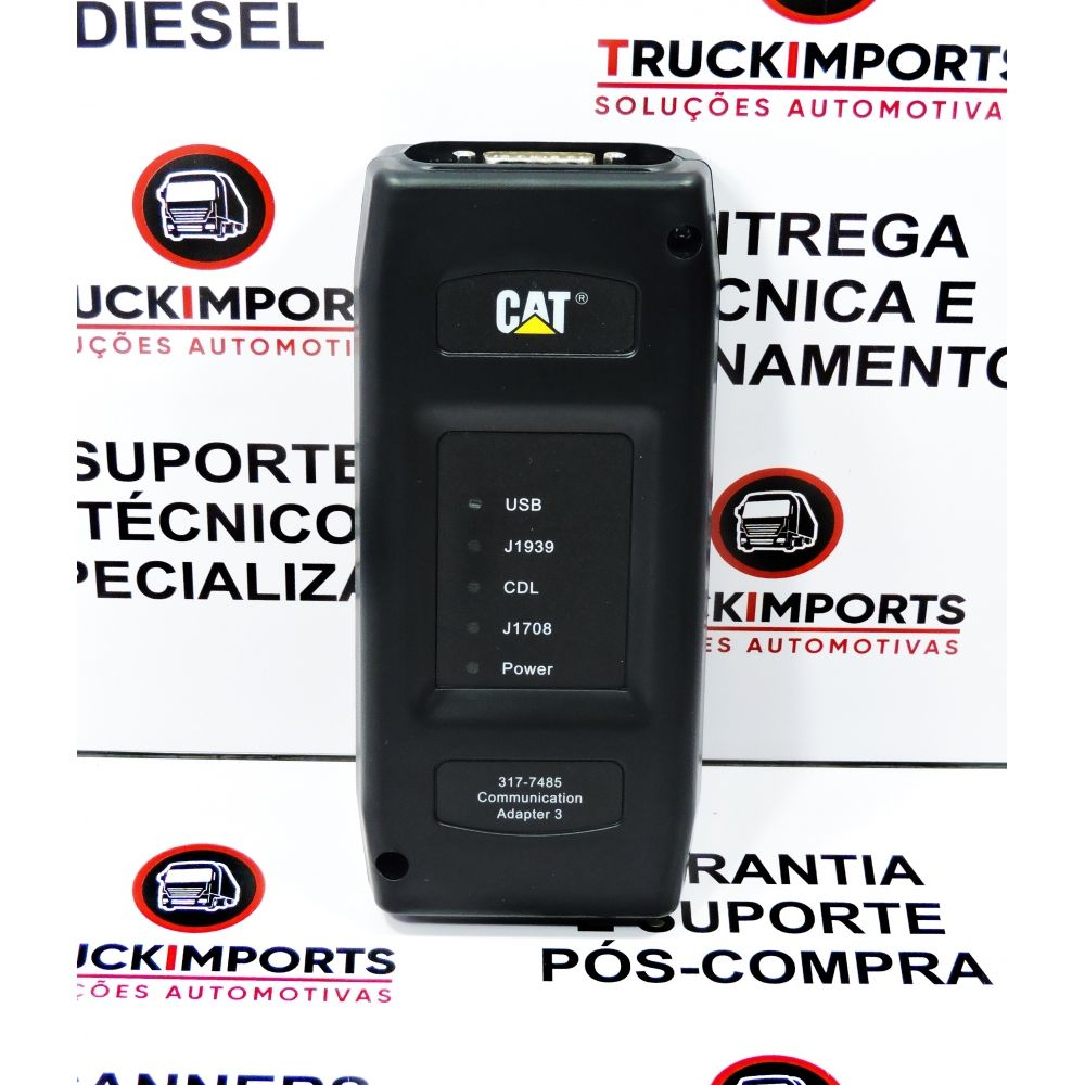 Kit Scanner Caterpillar Adapter 3 + CAT SIS + ET 2019